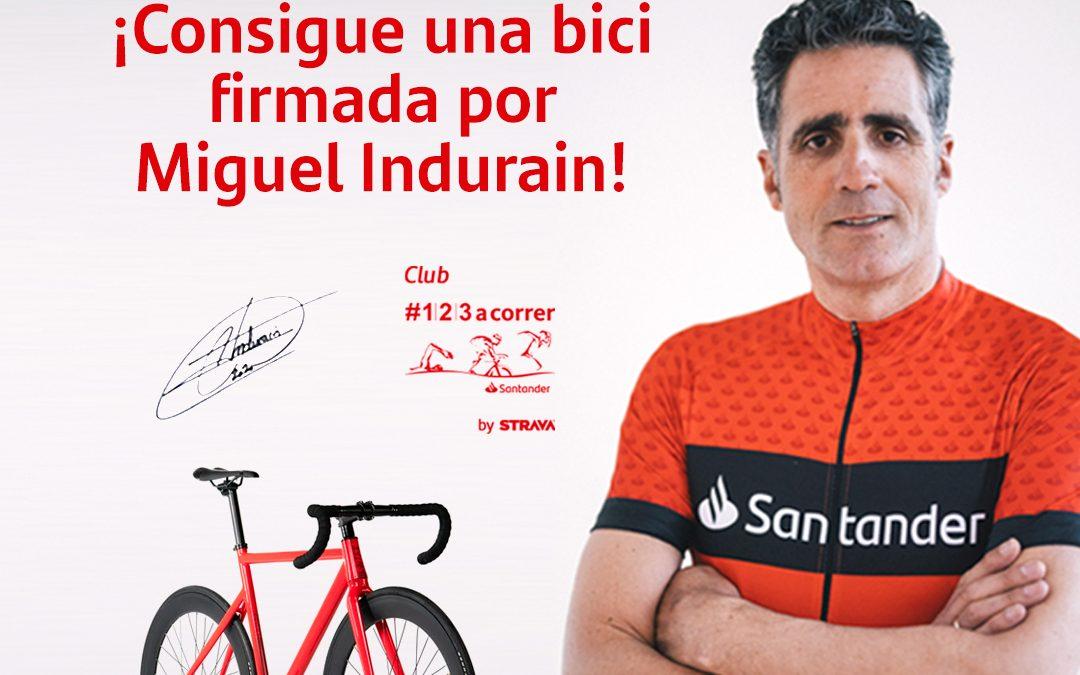 Realiza el reto de La Indurain en el club #123acorrer